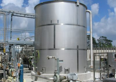 Chemical Tank Weighing