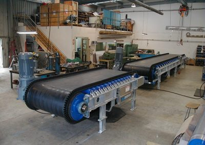 Weighfeeders for Steel Plant