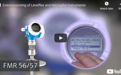 Commissioning of Levelflex and Micropilot instruments